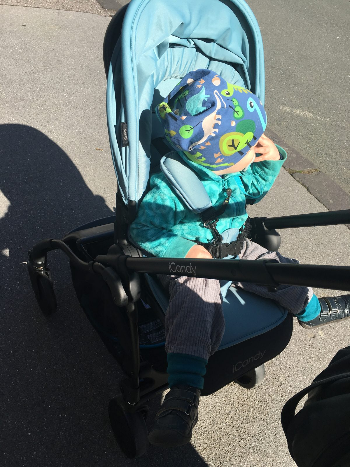 Buggytest: iCandy Raspberry Buggy
