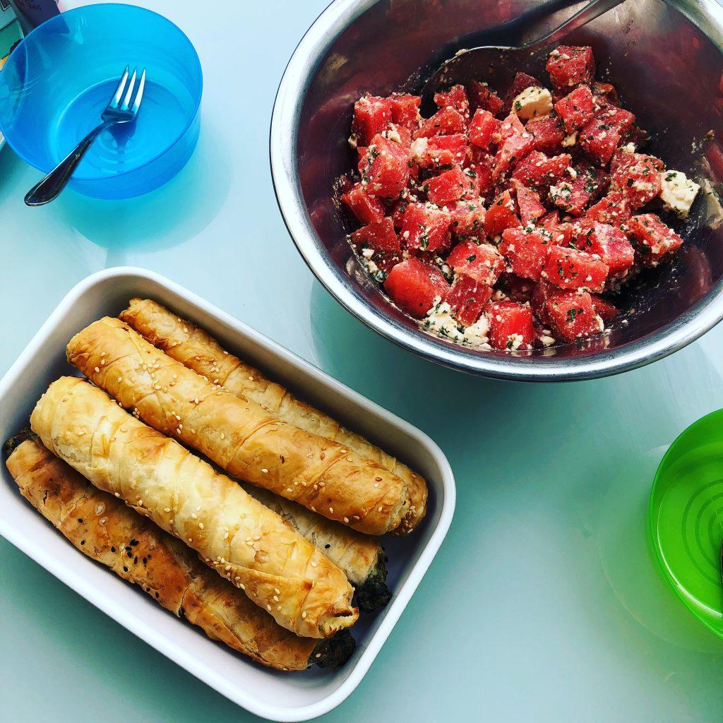 melone feta salat rezept bloggermumof3boys. Black Bedroom Furniture Sets. Home Design Ideas