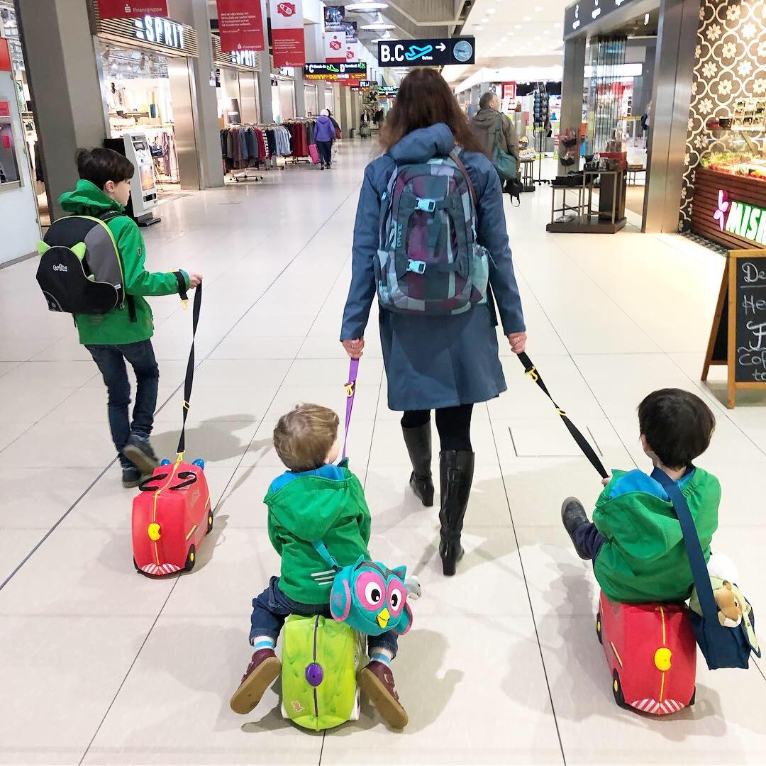 Fliegen mit Kindern – unsere Tipps