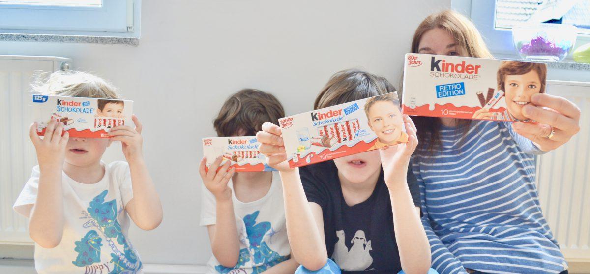 kinder Schokolade mit neuer Verpackung – Gewinnspiel