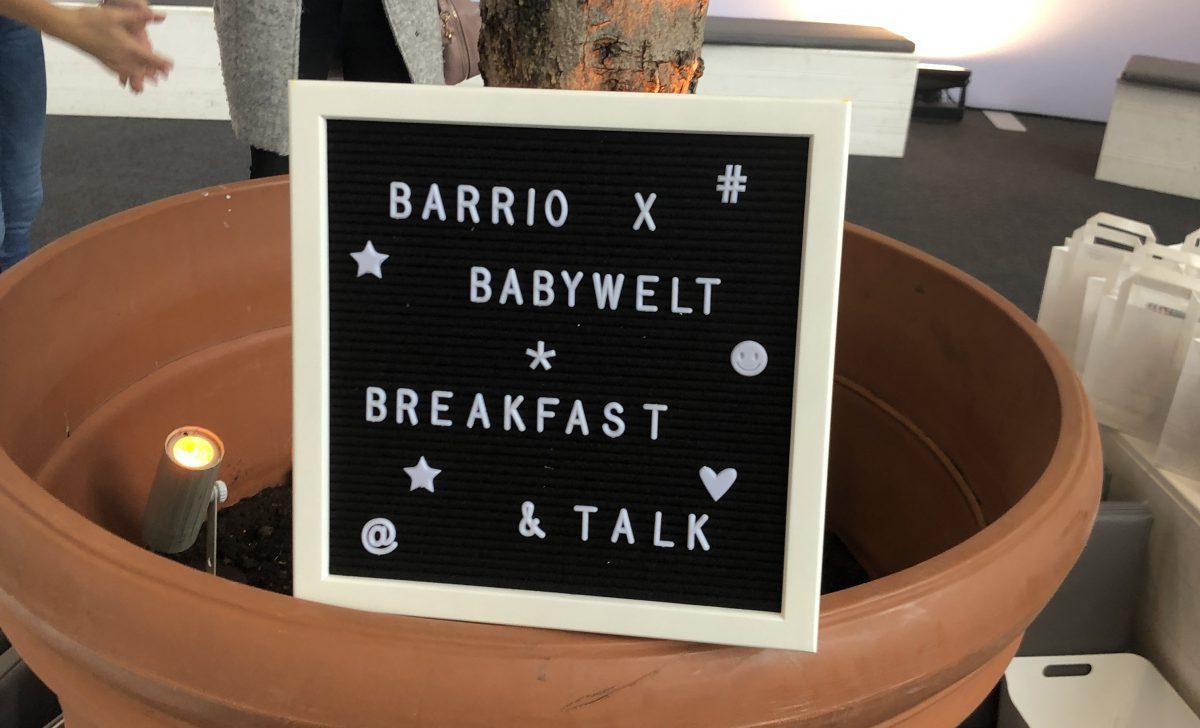 Zu Besuch auf der Babywelt Messe Essen 2019 mit Barrio