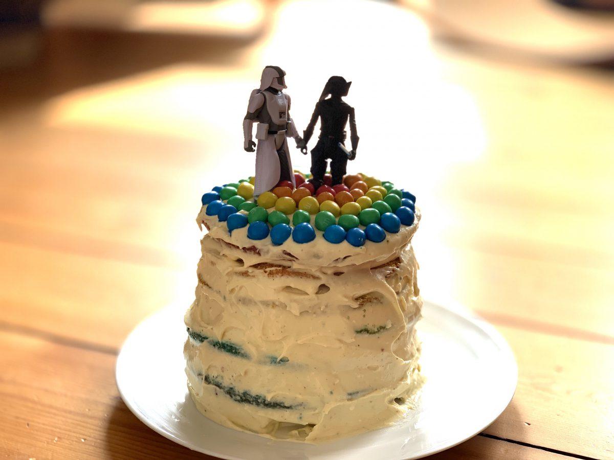 Rainbow Cake – Regenbogen Kuchen Rezept