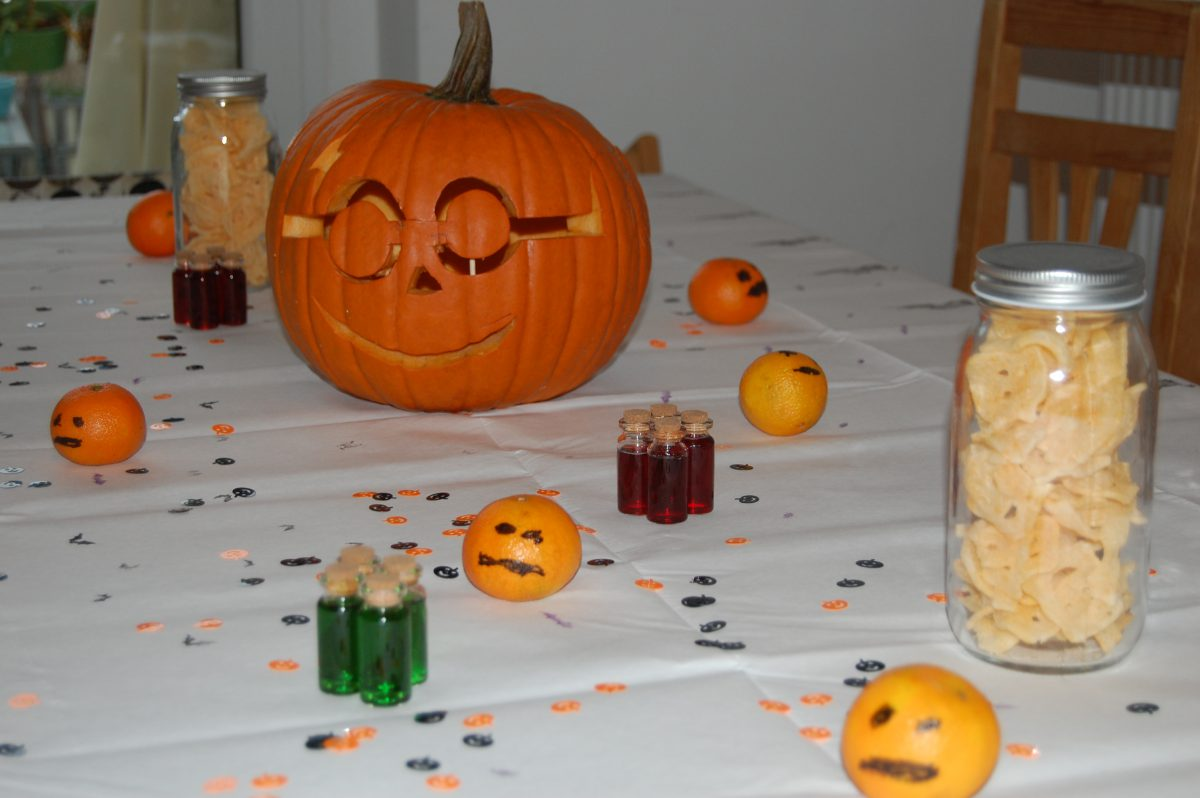 Halloween Party mit Kindern