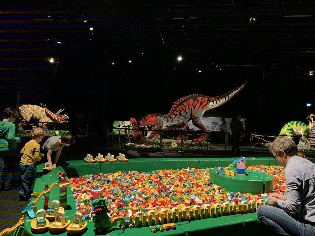 Brickosaurus im Odysseum