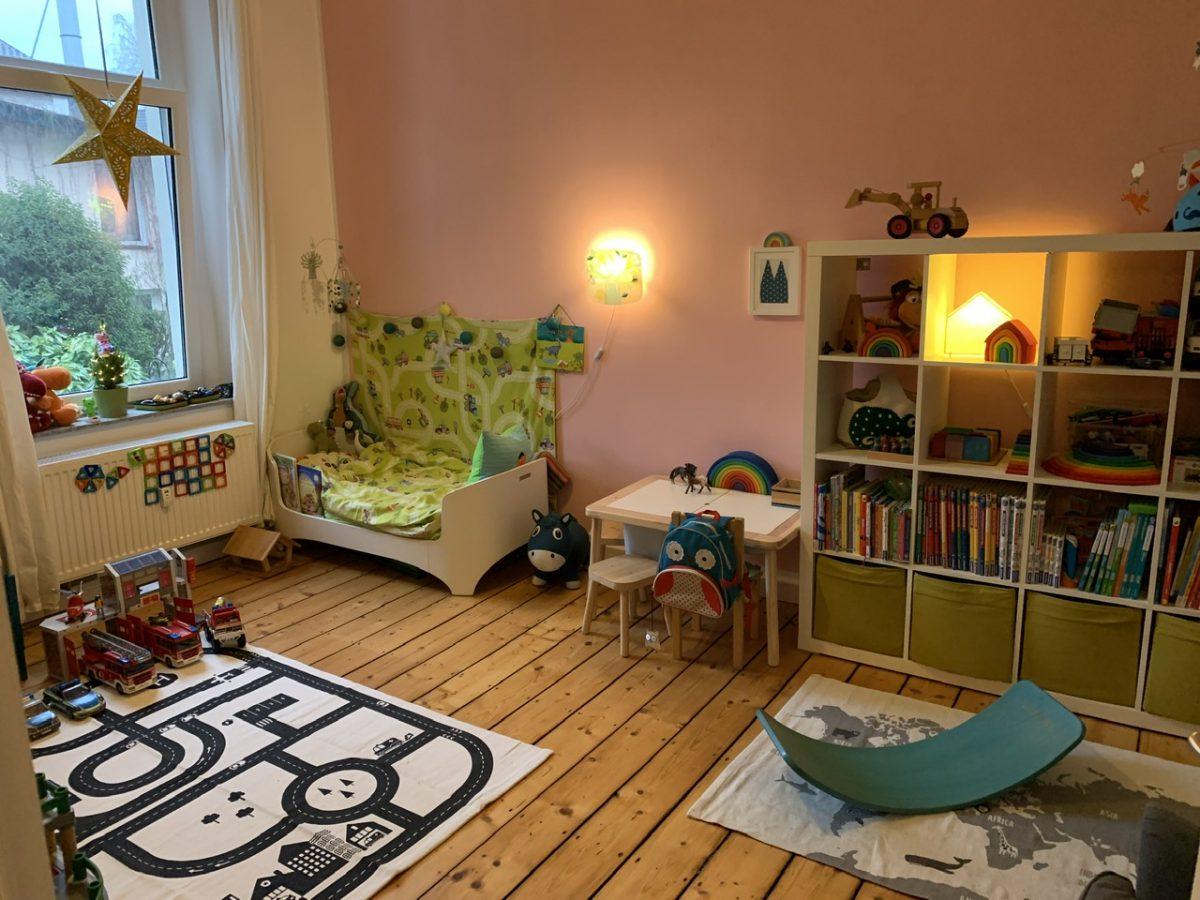 Ein neues Kinderzimmer, Chaos und keine Besinnlichkeit
