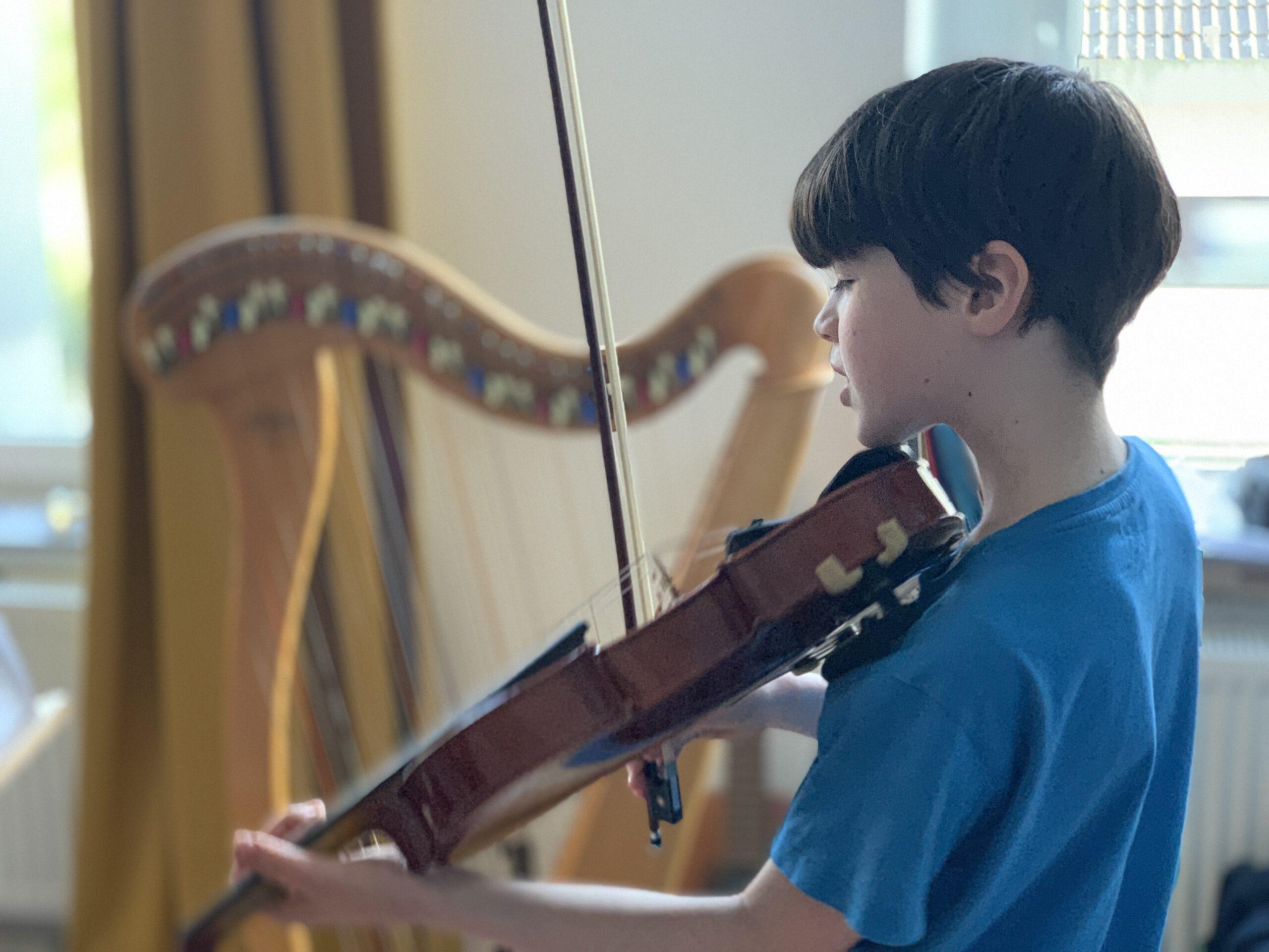 Musikliebe der Kinder – Instrumentalunterricht und Orchesterklasse