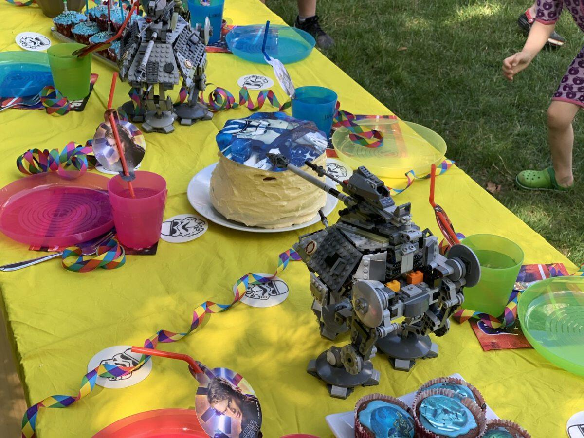 Star Wars Party zum 8. Geburtstag – ein ganz kleiner Kindergeburtstag