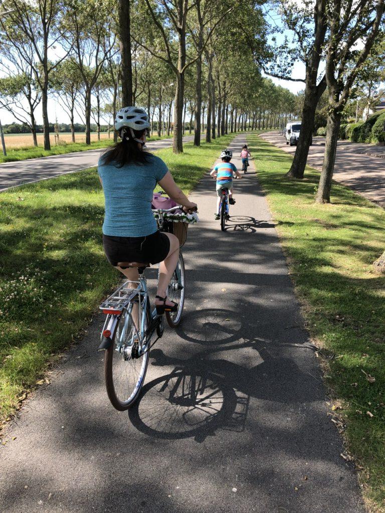 Für mich sind Radtouren Entspannung und Erholung - meistens jedenfalls, mit Kindern schwer kalkulierbar