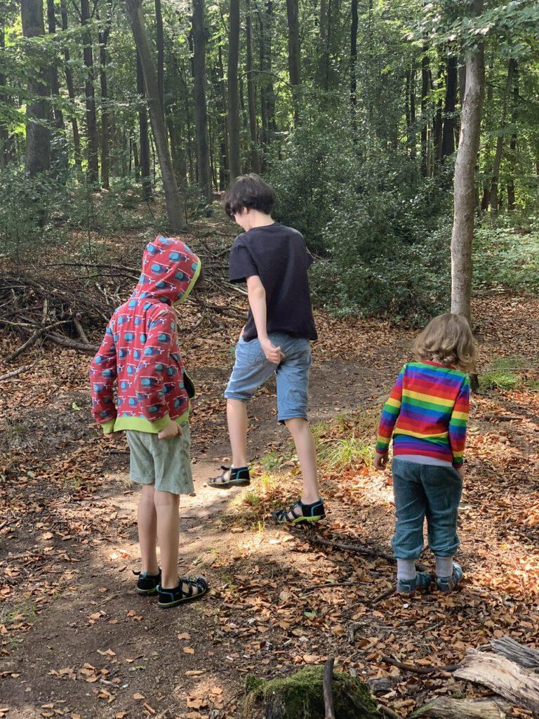 Leben mit drei Kindern