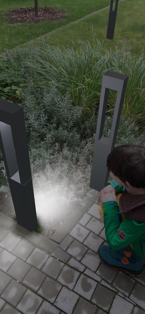 Augmented Reality mit der BEGA AR+ App