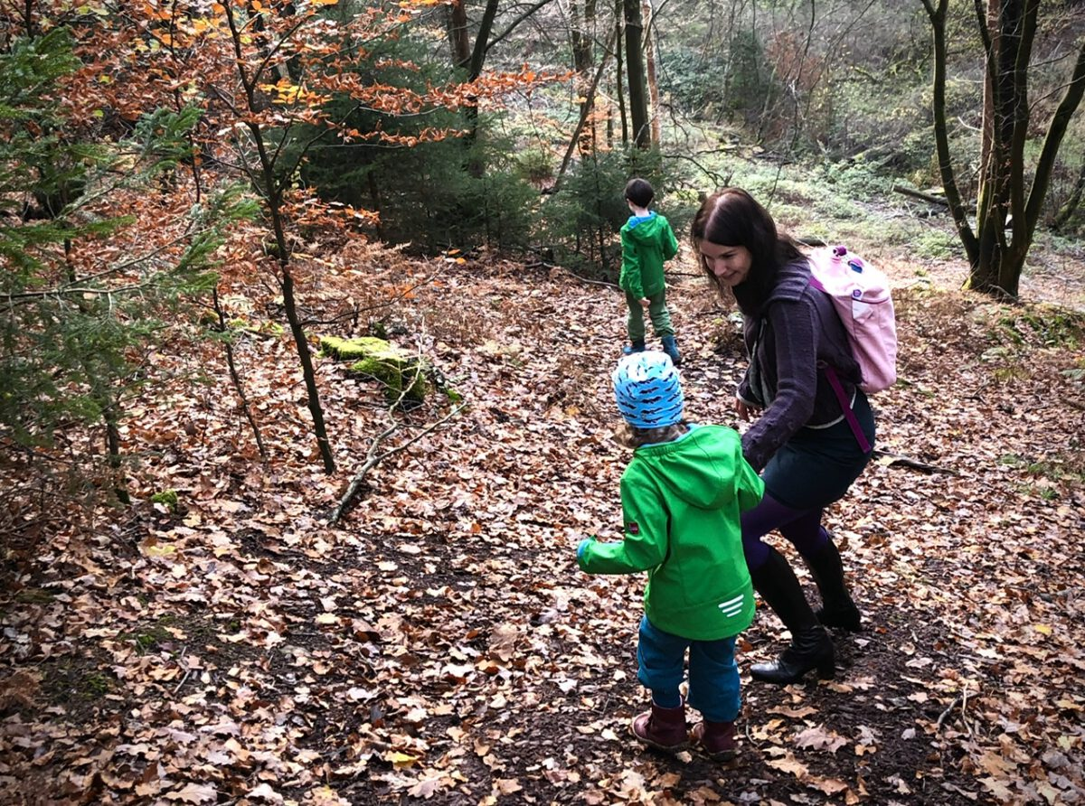 Frühling im November? – Wald und Burger, unser Wochenende in Bildern 14. & 15. November